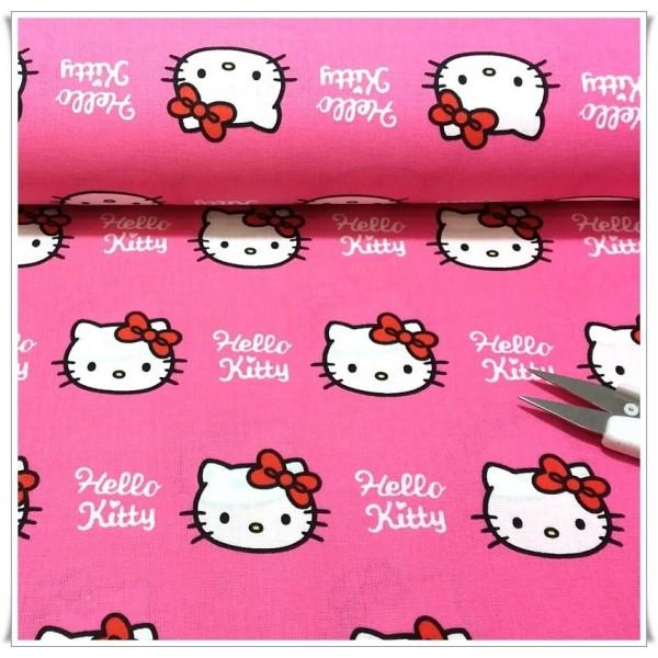 Original Hello Kitty algodón tela 1m