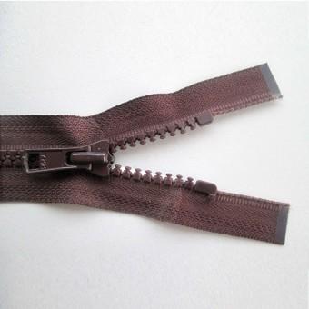 Cremallera inyectada 80cms marrón