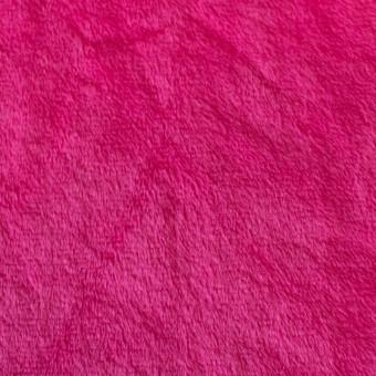 Tela de peluche tipo minky color ROSA