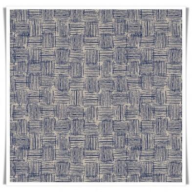 Retal loneta blue denim pattern
