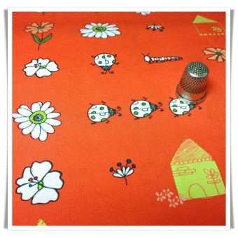 Fat quarter bugsy posy