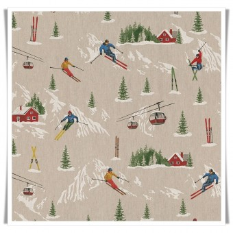 Retal loneta esquiadores 47 cms
