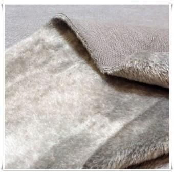 Retal tela pelito y sudadera gris 62 cms