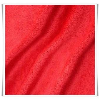 Tela minky - rojo