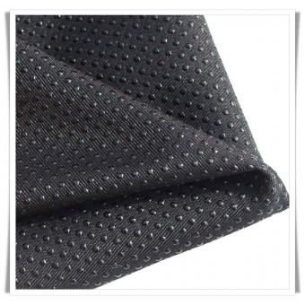 Retal tela antideslizante negro 40x138 cms