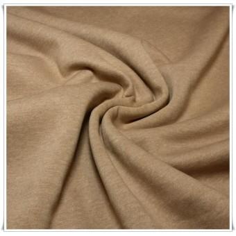 Retal tela sudadera marrón 76 cms