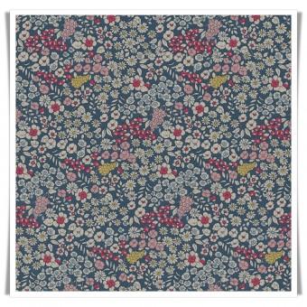 Retal loneta spring flowers 43x70 cms