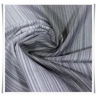 Retal sarga bambu rayas gris