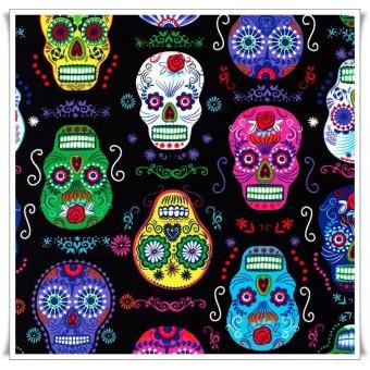 Tela art skulls