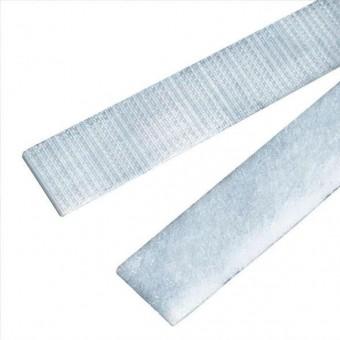 Velcro para coser blanco