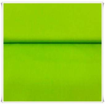 Tela popelin verde lima