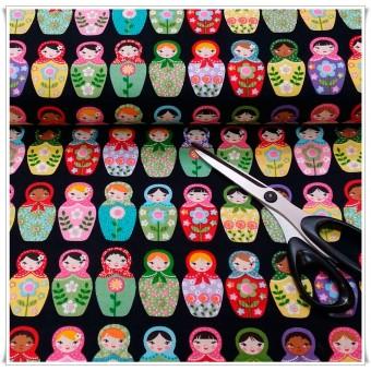 Retal tela Russian Dolls 34 cms