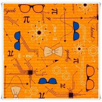 Retal tela Html Geek 44 x 30 cms