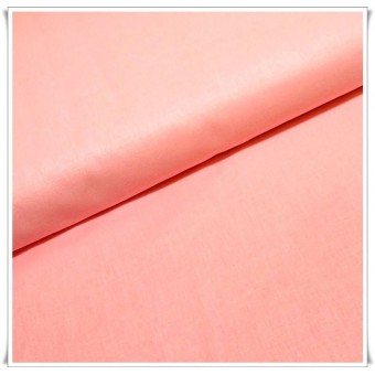 Tela algodón rosa claro