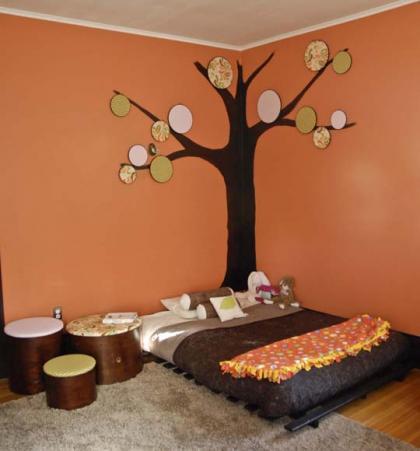 Decorar la pared con telas y bsatidores - Decorar muebles con tela ...