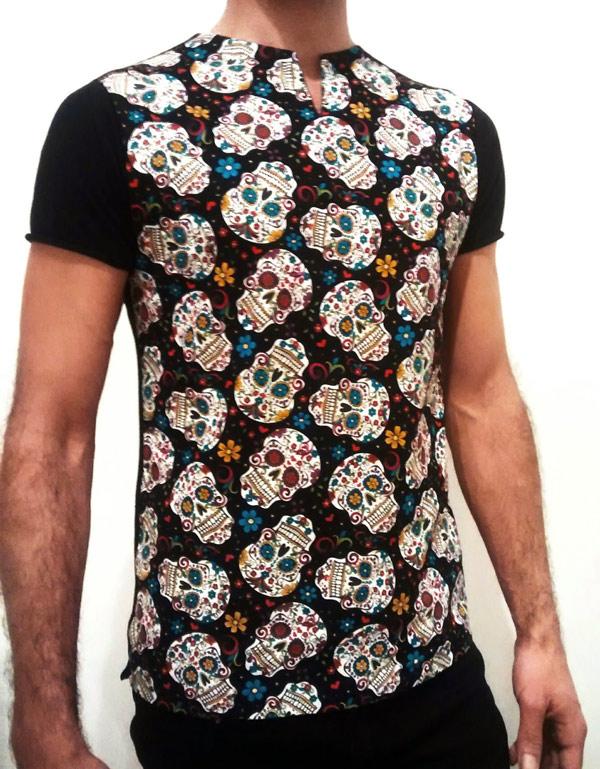 Camiseta de calaveras