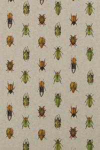 Loneta estampada escarabajos