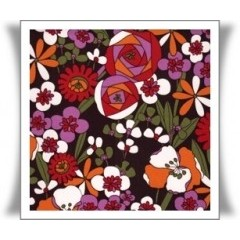 Telas con estampados de flores - telas online originales