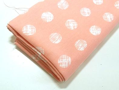 Loneta estampada algodones rosa