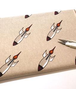 Loneta tela cohetes rockets